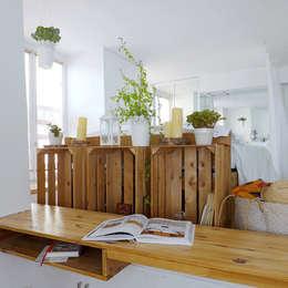 Estudios y oficinas de estilo ecléctico por Skéa Designer