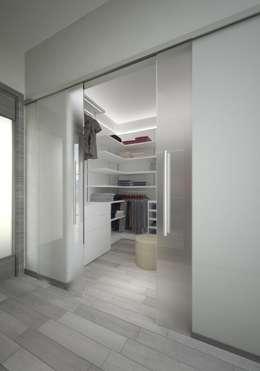غرفة الملابس تنفيذ Pardo Gaetano Architetto