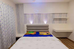 Apartment Interiors: modern Bedroom by Studio Stimulus