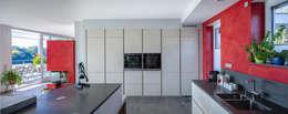 aaw Architektenbüro Arno Weirich: modern tarz Yemek Odası