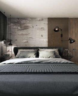 modern Bedroom by A2.STUDIO PRACOWNIA ARCHITEKTURY
