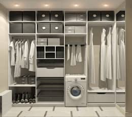 modern Dressing room by Aledoconcept