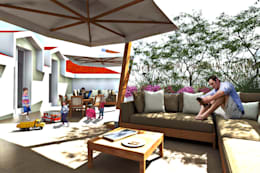 Terrazas de estilo  por AAA Architettura e Design