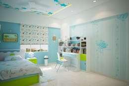 modern Nursery/kid's room by ACE INTERIORS