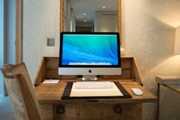 Work space: modern Study/office by London Residential AV Solutions Ltd