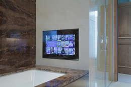 Projekty,  Łazienka zaprojektowane przez London Residential AV Solutions Ltd