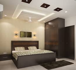 غرفة نوم تنفيذ ACE INTERIORS