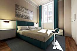 غرفة نوم تنفيذ AAA Architettura e Design