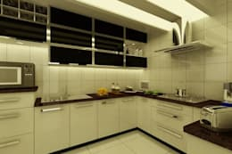 Project at Elita Promenade: modern Kitchen by ACE INTERIORS