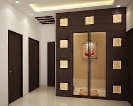 4 bedroom Villa at Prestige Glenwood:  Corridor & hallway by ACE INTERIORS