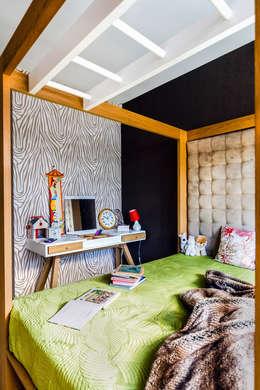 colonial Bedroom by Ayuko Studio