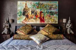 Our photoshoot of apartment located in Warsaw: styl , w kategorii Sypialnia zaprojektowany przez Ayuko Studio