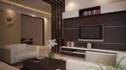Phòng khách by ACE INTERIORS