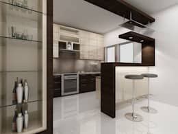 Dapur by ACE INTERIORS