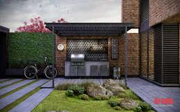 Casas de estilo ecléctico por Estudio Meraki