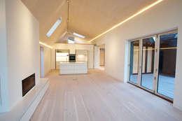 modern Living room by Nash Baker Architects Ltd