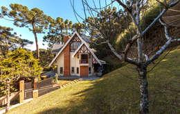 Maisons de style de style Rustique par VNK Arquitetura e Interiores