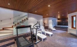 ห้องออกกำลังกาย by VNK Arquitetura e Interiores