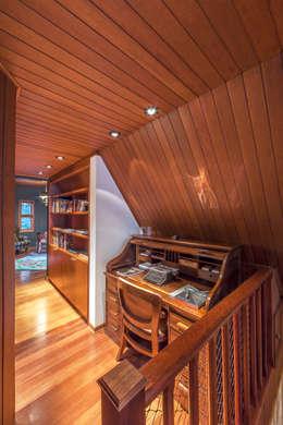 ห้องนั่งเล่น by VNK Arquitetura e Interiores