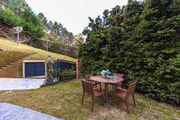 Jardines de estilo rústico por VNK Arquitetura e Interiores