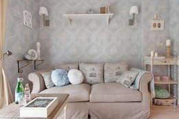 klasieke Woonkamer door DreamHouse.info.pl