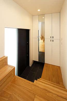 haus-note: 一級建築士事務所hausが手掛けた玄関・廊下・階段です。