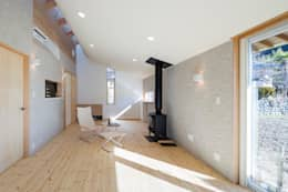 modern Living room by スズケン一級建築士事務所/Suzuken Architectural Design Office