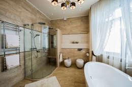 Ванная комната: Ванные комнаты в . Автор – LUXER DESIGN