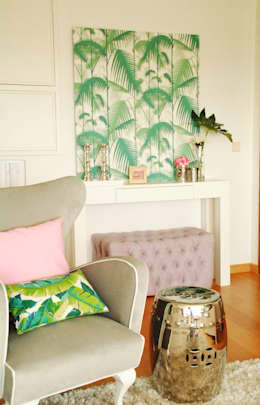 Salas de estar modernas por White Glam