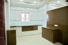 Kitchen: modern Kitchen by ZEAL Arch Designs