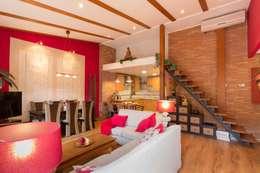 asian Living room by Narai Decor