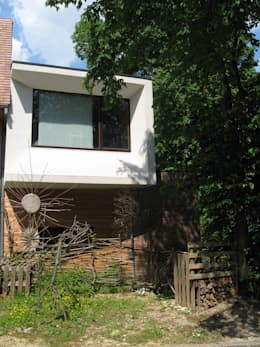 Maison basse énergie Bruxelles: Maisons de style de style Moderne par Metaforma Architettura