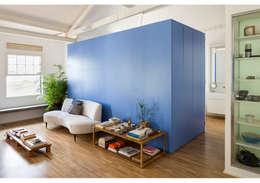 minimalistic Living room by RSRG Arquitetos