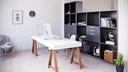 moderne Studeerkamer/kantoor door SALAArchitects