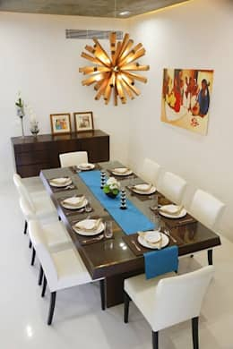modern Dining room by Uber space
