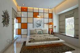 Dormitorios de estilo moderno por Neelanjan Gupto Design Co