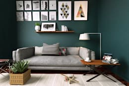 modern Living room by marianamoraldiseño