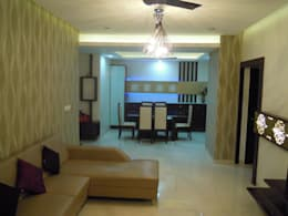 Punjabi's Residence.: modern Living room by MAVERICK Architects