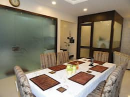 Amanora: modern Dining room by MAVERICK Architects