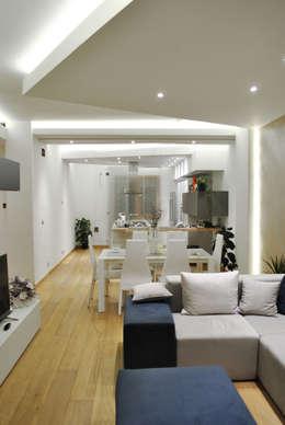 Projekty,  Salon zaprojektowane przez Salvatore Nigrelli Architetto