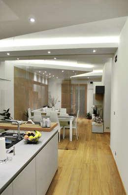 Projekty,  Kuchnia zaprojektowane przez Salvatore Nigrelli Architetto