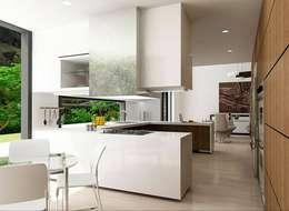 : Cocinas de estilo clásico por FR ARQUITECTURA SAS