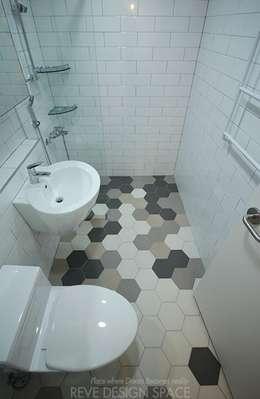 modern Bathroom by 디자인스튜디오 레브
