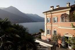 Lake House, Lago di Como, Italy: klasieke Huizen door Ethnic Chic Home Couture