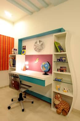 CONTEMPORARY LIVING: modern Nursery/kid's room by Archana Shah & Associates