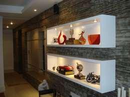Livings de estilo moderno por Ana Levy | Arquitetura + Interiores
