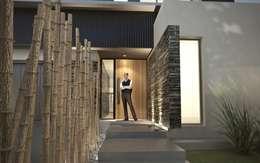 Casas de estilo moderno por Chazarreta-Tohus-Almendra