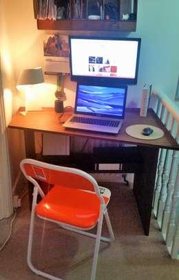 Estudios y despachos de estilo moderno por Patience Designs