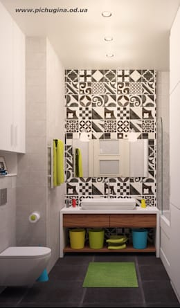 Tatyana Pichugina Design의  화장실