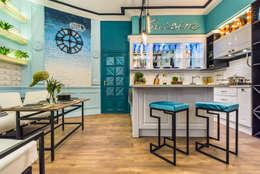КАФЕ ДЕ ПАРИ: Кухни в . Автор – Tony House Interior Design & Decoration